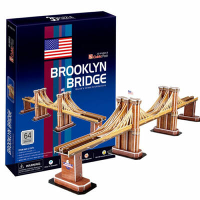 3D puzzle Brooklyn híd (64 db-os)