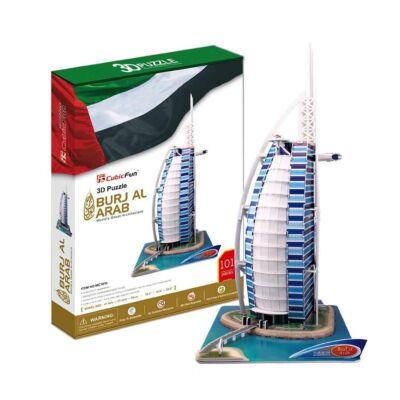 3D puzzle Burdzs al-Arab (101 db-os)