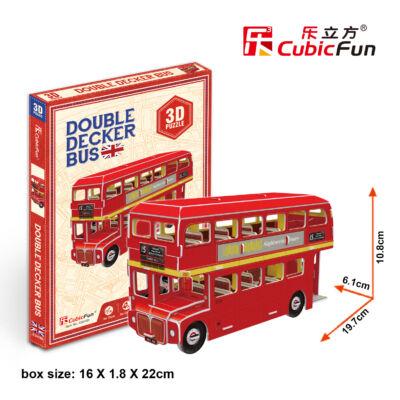 3D puzzle Double Decker emeletes busz (66 db-os)