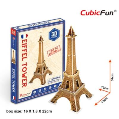 3D puzzle Eiffel Torony (20 db-os)