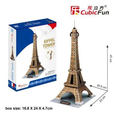 3D puzzle Eiffel Torony (arany) (35 db-os)
