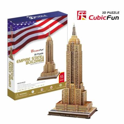 3D puzzle Empire State Building (55 db-os)