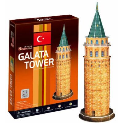 3D puzzle Galata Torony (17 db-os)