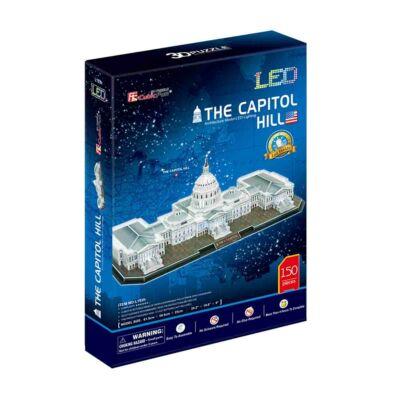 3D puzzle Kapitólium LED világítással (150 db-os)