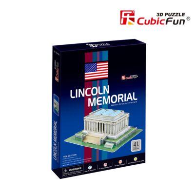 3D puzzle Lincoln- emlékmű (41 db-os)