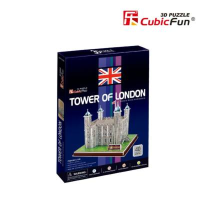 3D puzzle Londoni Tower (40 db-os)