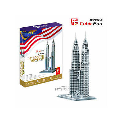 3D puzzle Petronas-ikertorony (88 db-os)