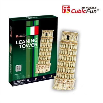 3D puzzle Pisa-i ferde torony (13 db-os)