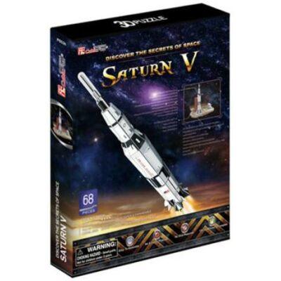 3D puzzle Saturn V Holdrakéta (68 db-os)