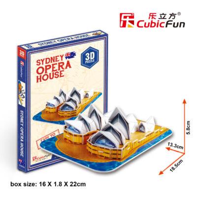 3D puzzle Sydney-i Operaház (30 db-os)