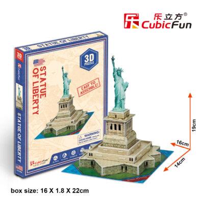 3D puzzle Szabadság-szobor (31 db-os)