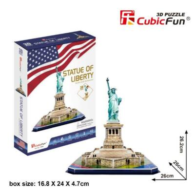 3D puzzle Szabadság-szobor (39 db-os)