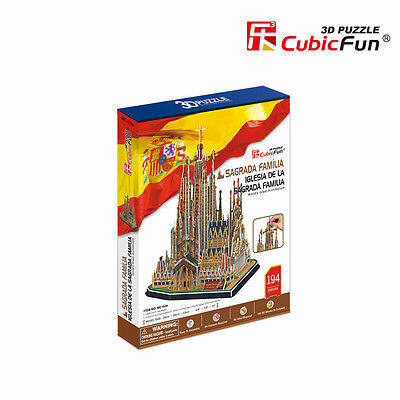 3D puzzle Szent Család-templom (194 db-os)
