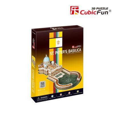 3D puzzle Szent Péter-székesegyház (56 db-os)