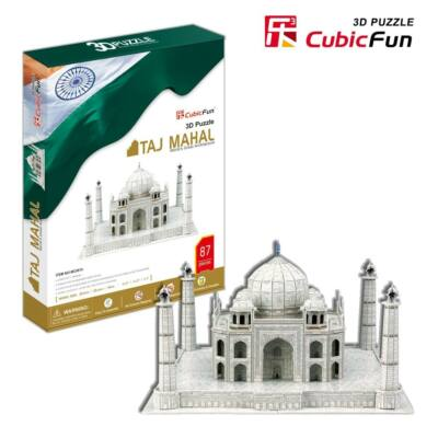 3D puzzle Tádzs Mahal (87 db-os)