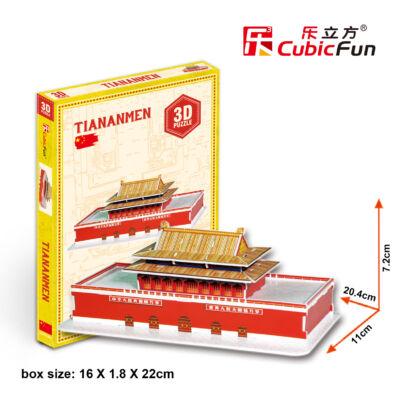 3D puzzle Tiananmen (23 db-os)