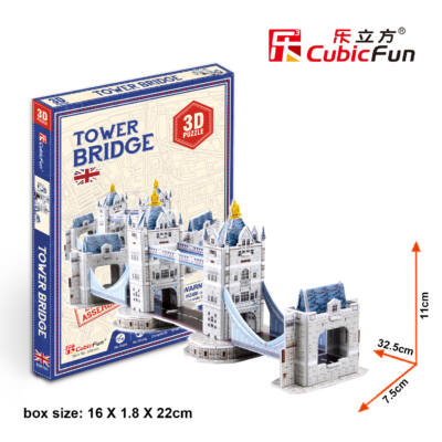 3D puzzle Tower híd (32 db-os)