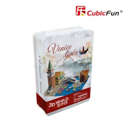 3D puzzle Velence (131 db-os)