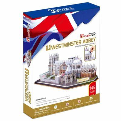 3D puzzle Westminster apátság (145 db-os)