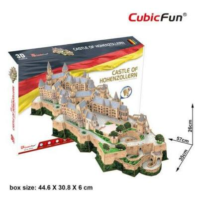 3D puzzle Hohenzollern kastély (185 db-os)