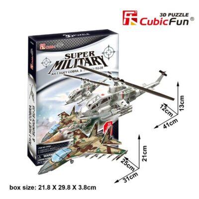 3D Puzzle AH-1 Huey Cobra és Sukhoi SU-35