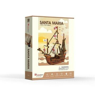 3D puzzle Santa Maria (93 db-os)