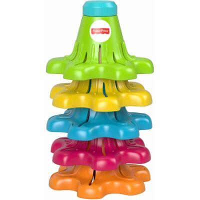 Pörgő-forgó színes kúpok