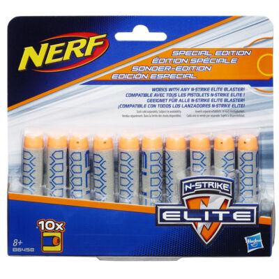 NERF Elite utántöltő (10 db, szürke-narancs szivacslövedék)