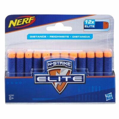 NERF Elite 12 db Szivacslövedék