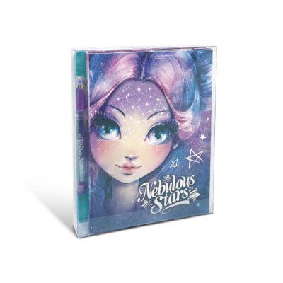 Nebulous Stars Mini jegyzetfüzet matricákkal,tollal (A)