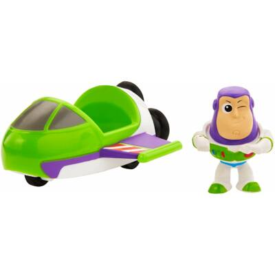 Toy Story mini figurák járművel (Buzz Lightyear)