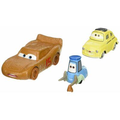 Verdák 3 karakter kisautók (2-es csomag) - Cester Whipplefilter, Luigi & Guido