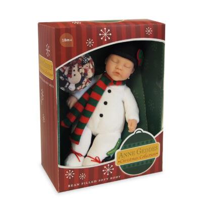 Anne Geddes babák - Hóember (23 cm)