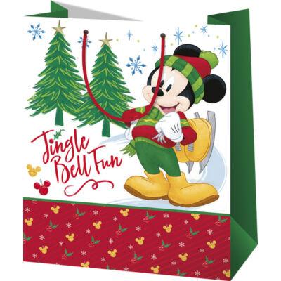 Miki egér karácsonyi dísztasak (közepes)