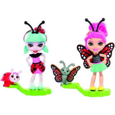 Enchantimals Petal Park bogárbarátok (Ladelia Ladybug & Baxi Butterfly)