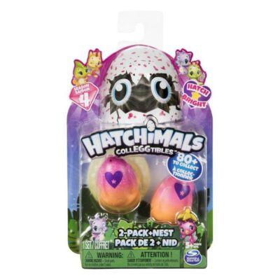 Hatchimals Gyűjthető Tojás (2db+fészek)