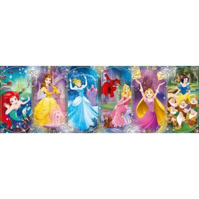 Panoráma puzzle: Disney Hercegnők (1000 db)