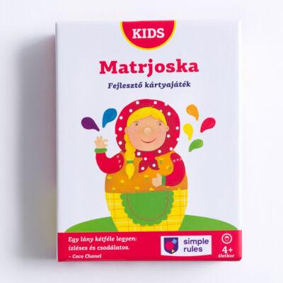 Matrjoska társasjáték (4-7 éves)