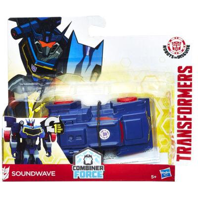 Transformers Robots in Disguise Egy lépésben átalakuló Robot (Soundwave)