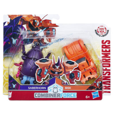 Transformers Robots in Disguise Combiner Force (Saberhorn & Bisk)