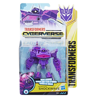 Transformers Action Attacker Harcos (Schockwave)
